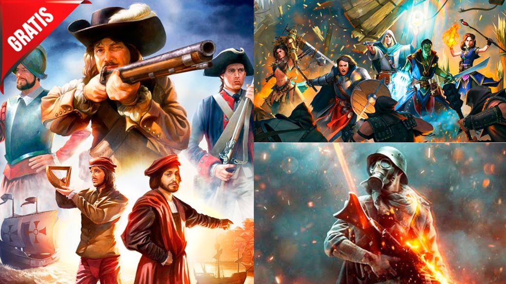 Free and sale games for this weekend: Battlefield 1 Expansion, Pathfinder, etc.