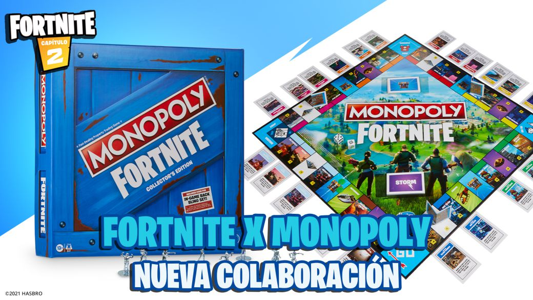 Fortnite x Monopoly: this is the collaboration with the board game