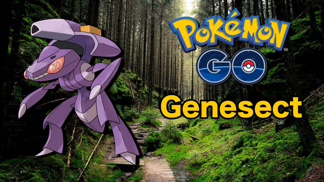 Genesect with HidroROM in Pokémon GO: how to defeat it and better counters [2021]