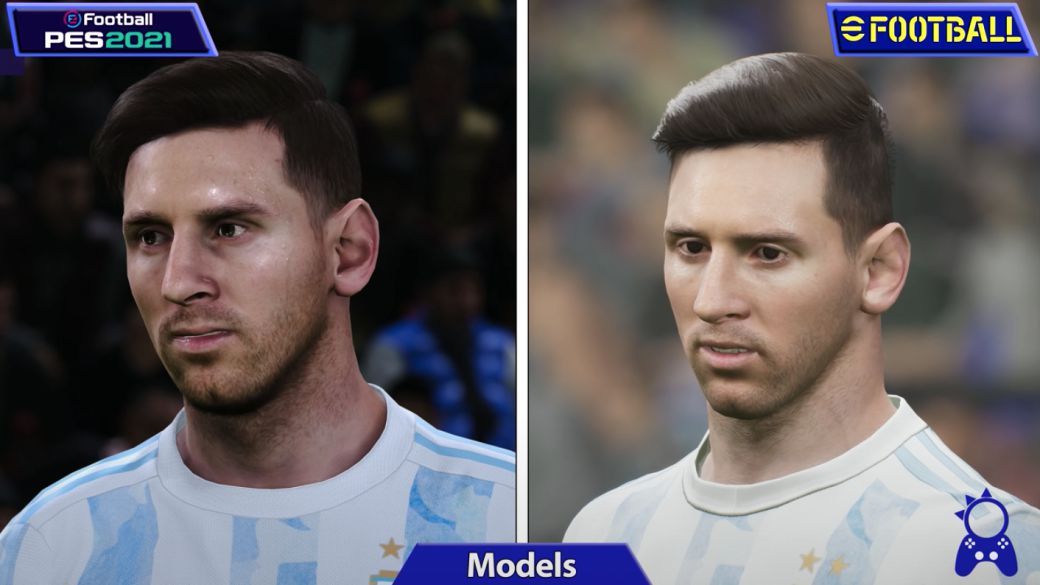 eFootball 2022 vs PES 2021, which one has better graphics?  New comparison
