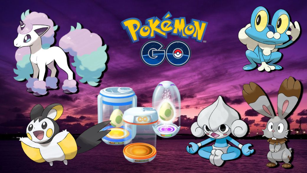 Pokémon GO: all Eggs of 2, 5, 7, 10 and 12 km (October 2021)