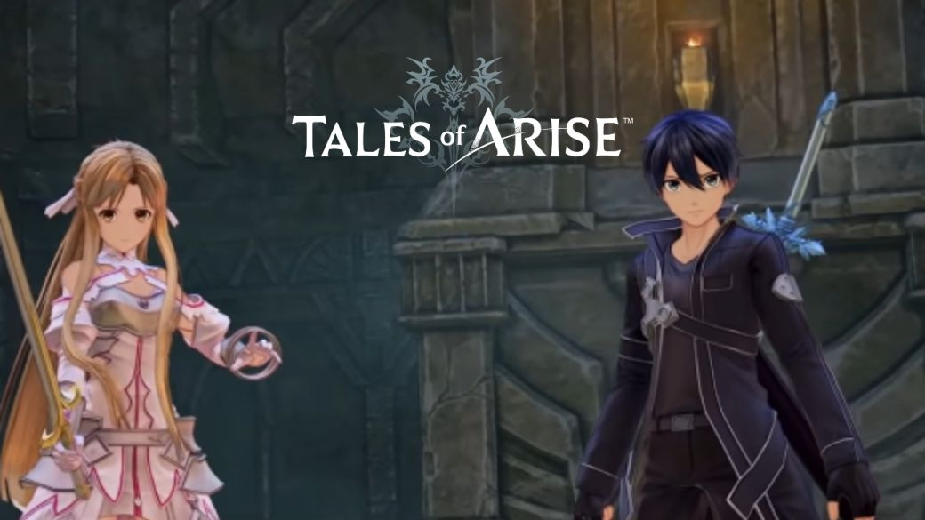 Tales of Arise Announces Collaboration With Sword Art Online;  details of the first DLC