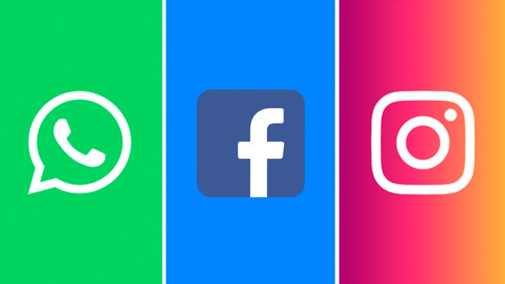 What happens to messages and posts from WhatsApp, Facebook and Instagram if they are down?