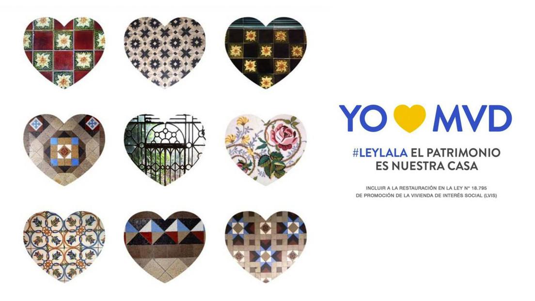 Cómo el hallazgo de unos mosaicos rotos motivó a un artista a promover un proyecto de ley en Uruguay