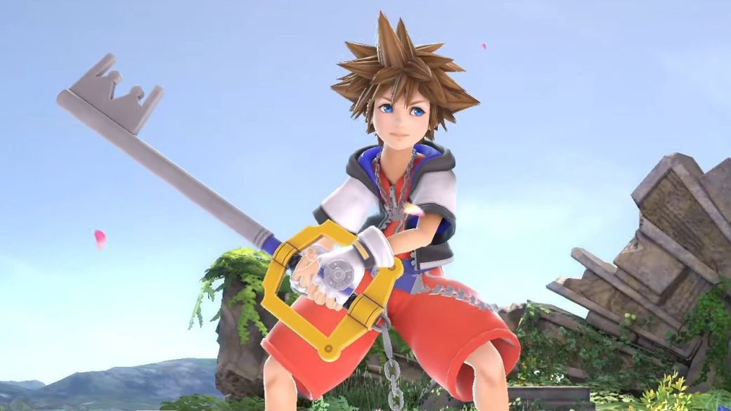 Trailer for Sora in Super Smash Bros.  Ultimate