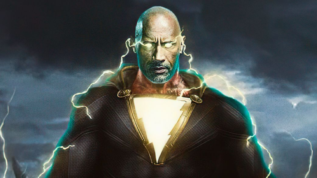 Black Adam: Leaked Images of Dwayne Johson's Suit and Hawkman's Helmet and Armor