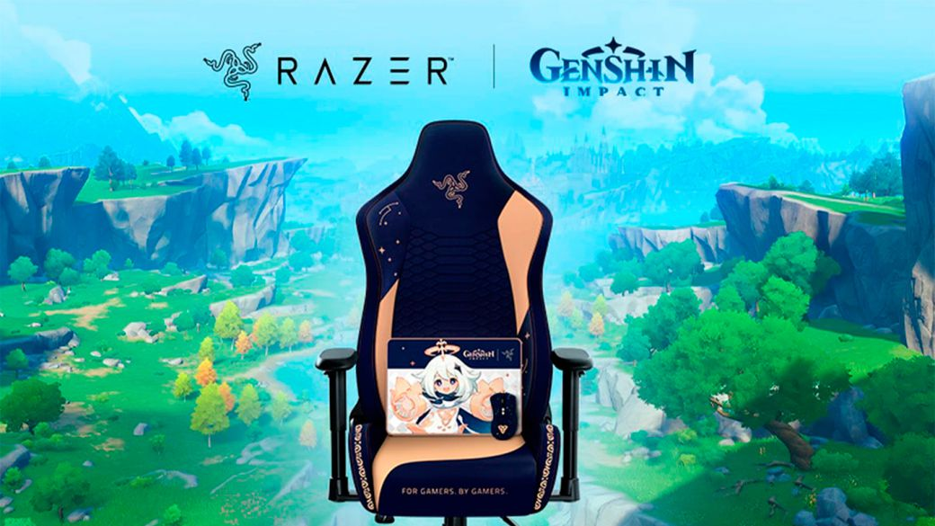 Razer x Genshin Impact: this is the new collection of gaming peripherals with chairs, mice and more