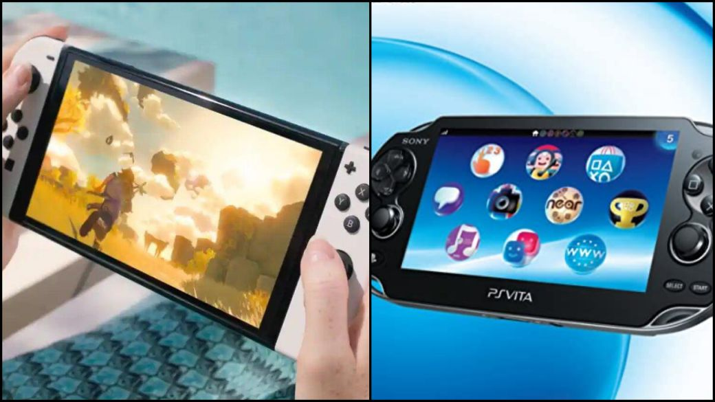 Nintendo Switch OLED, compare its screen with that of PS Vita, which one is brighter?