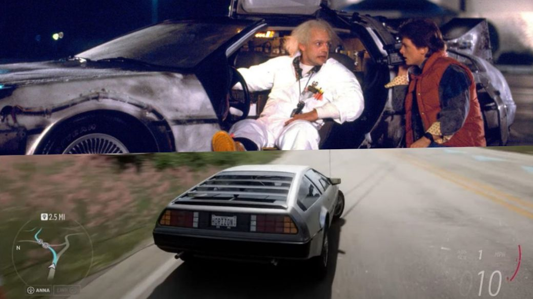 Forza Horizon 5 will let you tour Mexico in the Delorean from Back to the Future