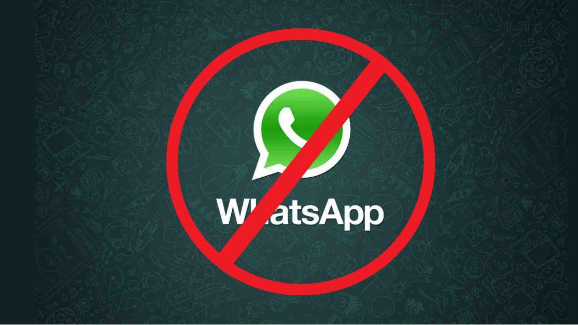 WhatsApp te puede eliminar la cuenta si haces alguna de estas acciones
