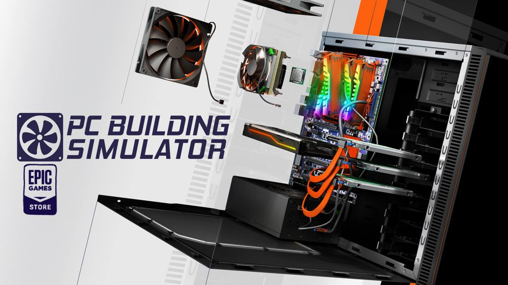 PC Building Simulator, free on the Epic Games Store;  how to download it on pc