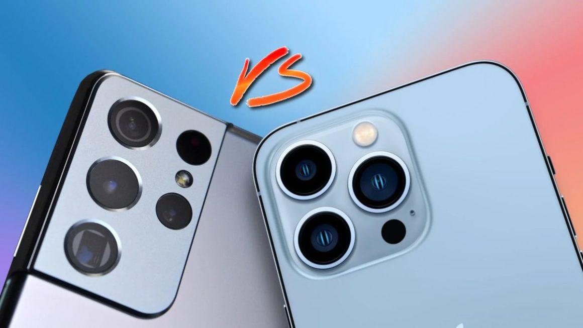 iPhone 13 Pro Max vs Samsung Galaxy S21 Ultra comparativa batería
