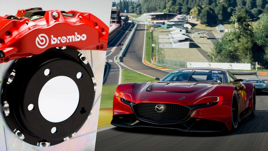 Gran Turismo 7 teams up with Brembo to implement its braking systems in the game