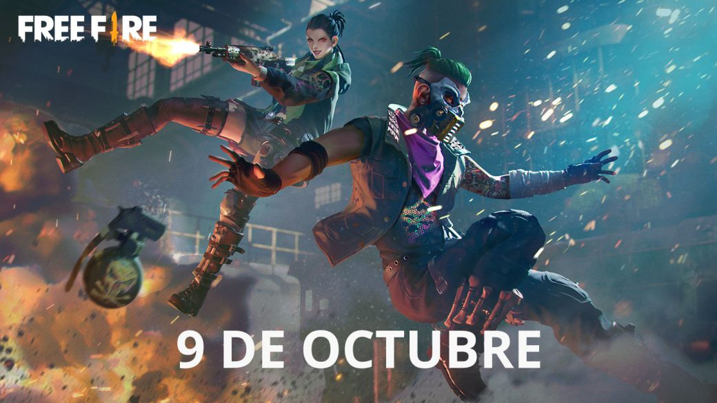 Today's Free Fire Codes October 9, 2021;  all free rewards