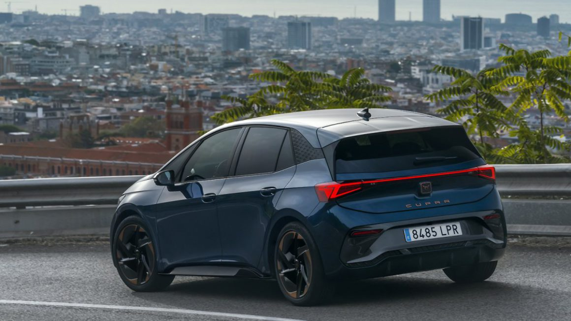 Electric car Cupra Born: Fast VW ID.3 offshoot in the driving report