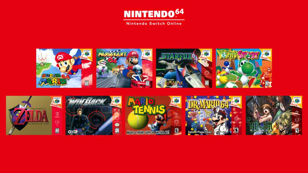 Nintendo 64 games can be set to 60Hz on Nintendo Switch Online