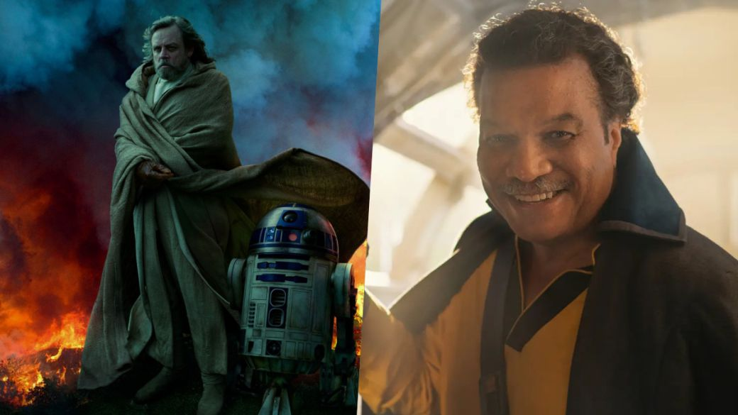The sequel trilogy continues with Lando and Luke in this Star Wars product