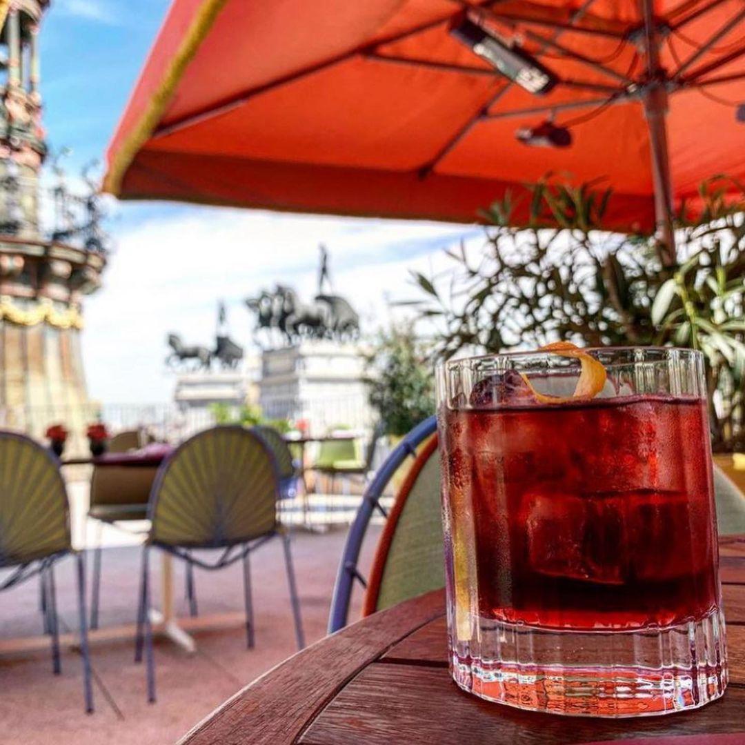 Restaurante Dani Brasserie at the Four Seasons Madrid.  / Photo: Instagram