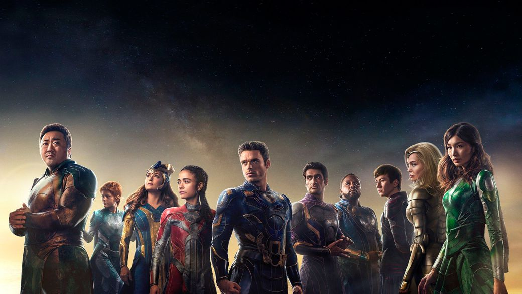 Eternals confirms its duration: it will have two key post-credit scenes for the future of the MCU