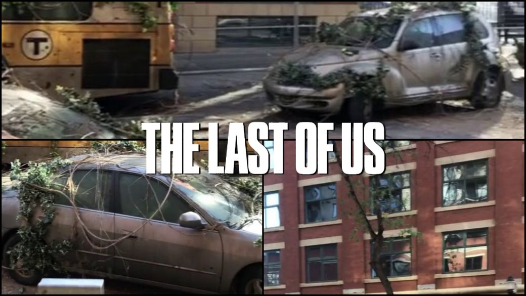 The Last of Us series: new photos of the filming set, this is how its streets look