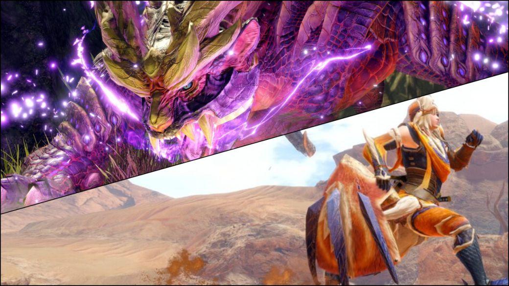 Monster Hunter Rise no tendrá cross-play ni cross-save entre PC y Nintendo Switch