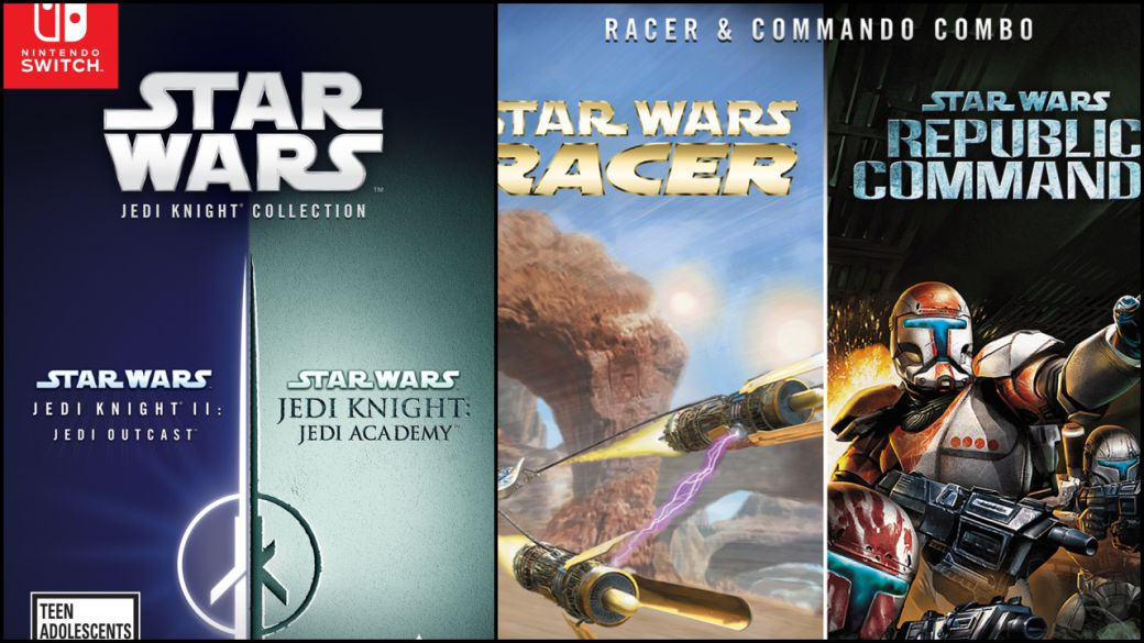 Star Wars Jedi Knight Collection, Racer and Commando will arrive in physical pack for PS4 and Switch