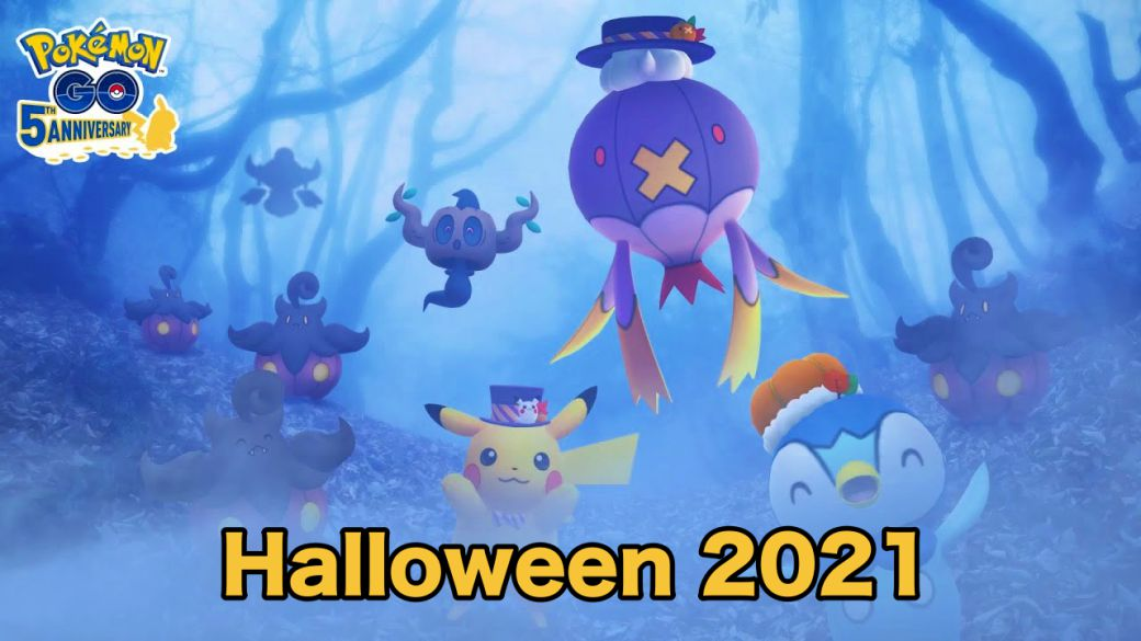 Pokémon GO - Halloween Event: date, time, bonuses and special missions