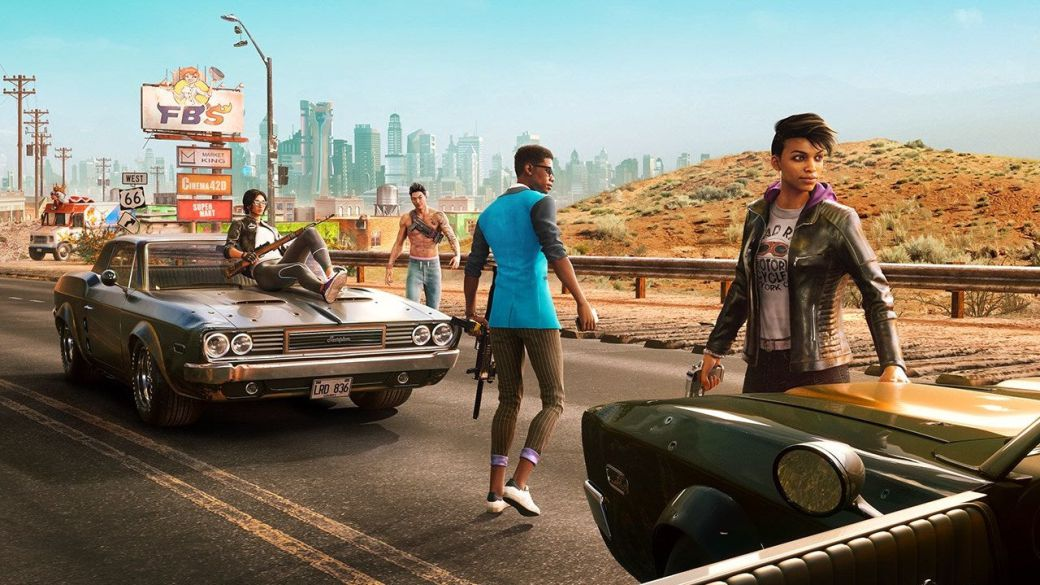 Saints Row shows us a little walk through Santa Ileso in its new gameplay