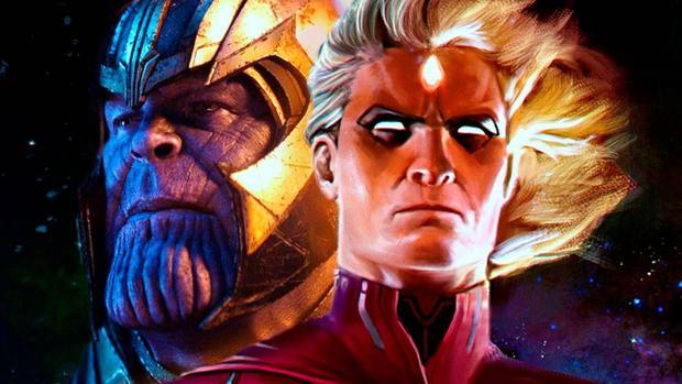 Adam Warlock y Thenaos (Foto: Marvel)
