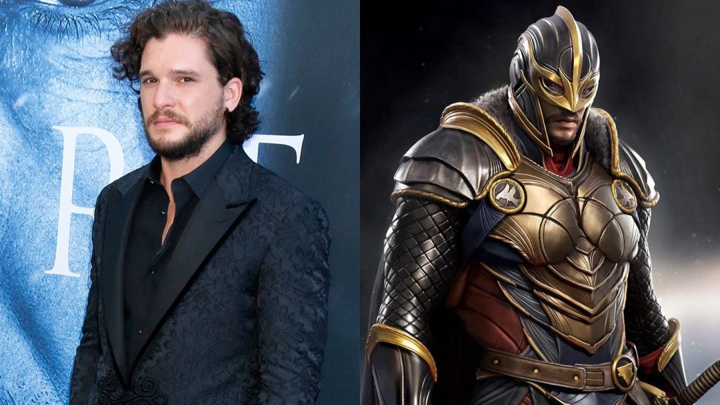 Will we see Kit Harington (Game of Thrones) as Black Knight in Eternals?  Marvel responds