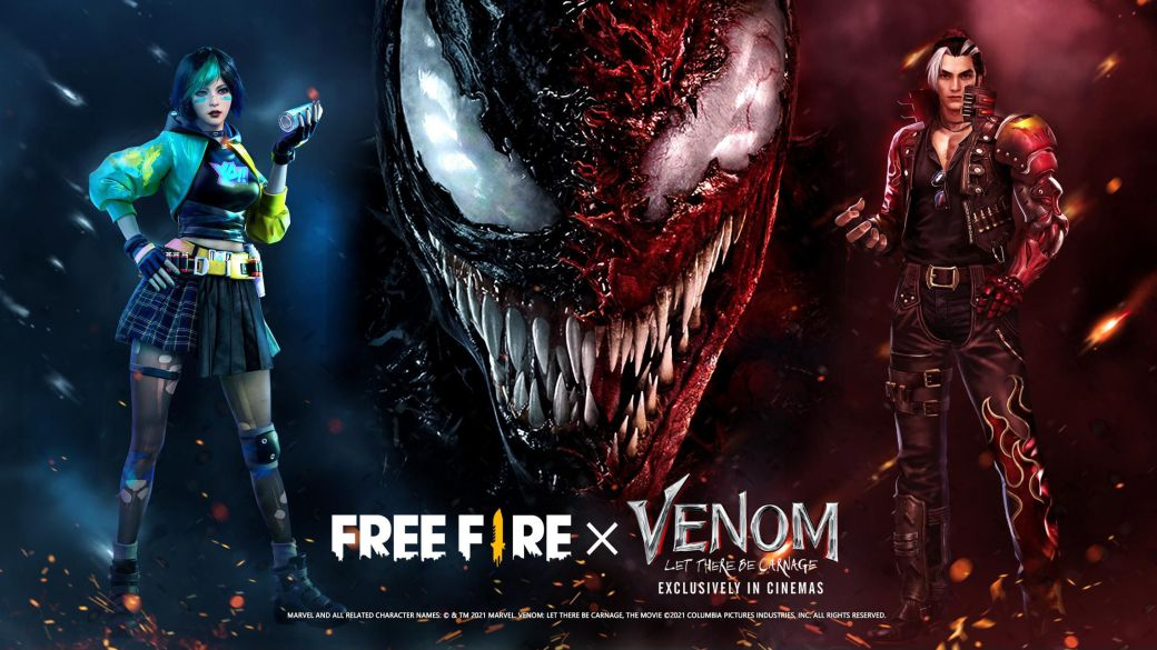 Free Fire Kicks Off Venom There Will Be Carnage Special Event;  rewards and dates