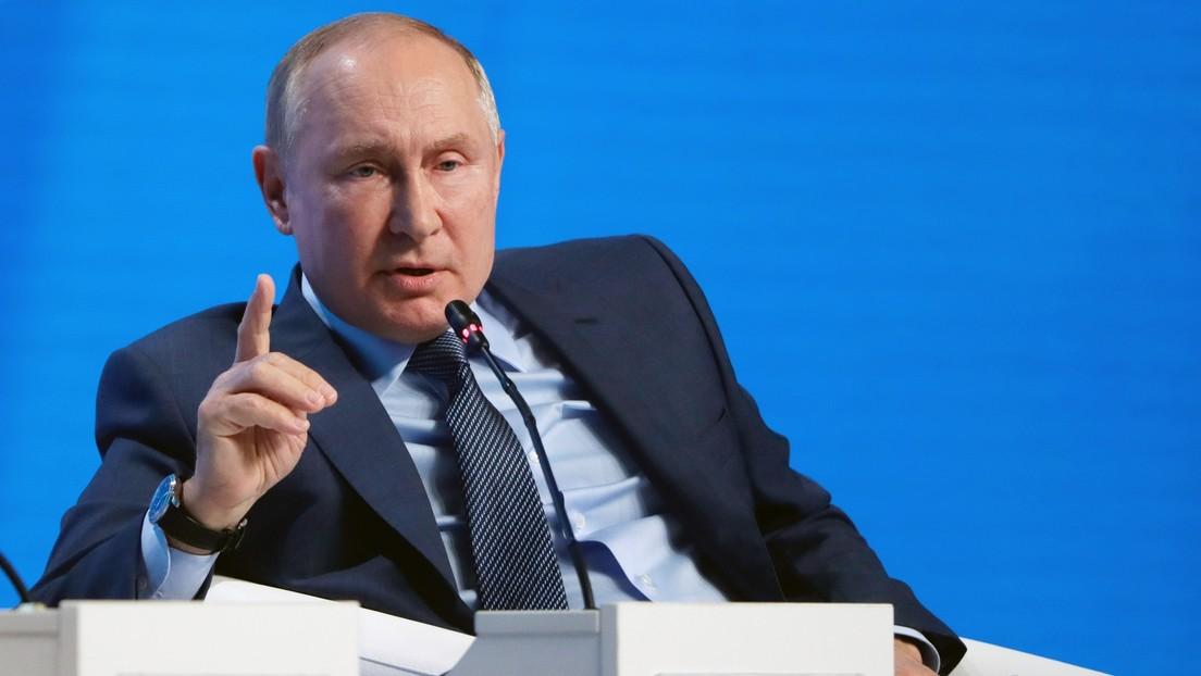 """Putin: """"EE.UU. comete un gran error al utilizar el dólar como herramienta de sanción"""""""
