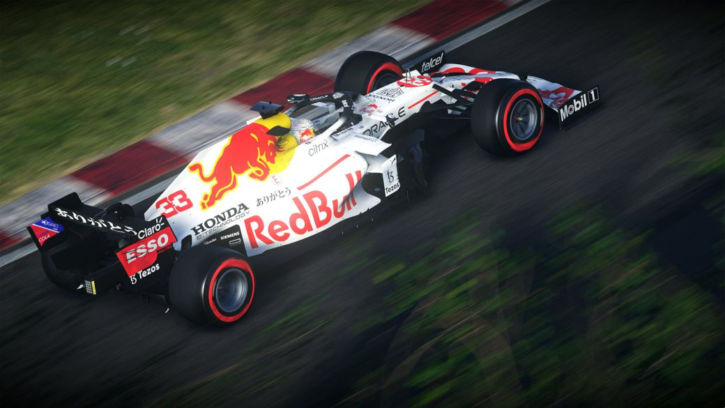 F1 2021 receives free the Imola circuit and the white Red Bull