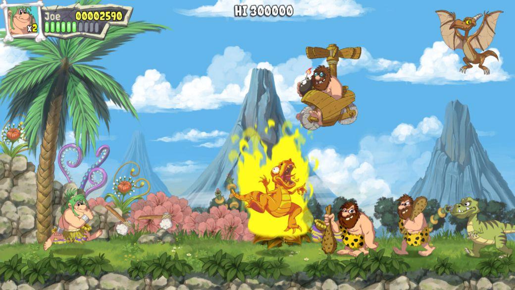 Microids recupera Joe & Mac: Caveman Ninja en formato remake