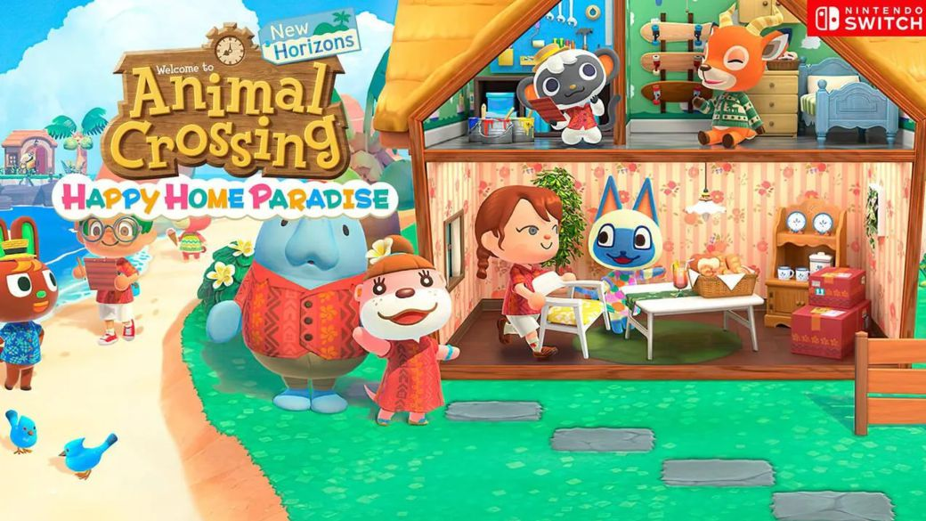 Discover all the news of the Animal Crossing New Horizons paid expansion