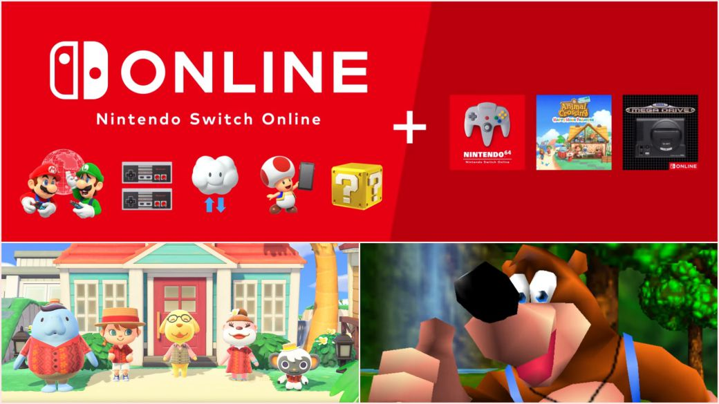 We already know the price, content and date of the Nintendo Switch Online Expansion Pack