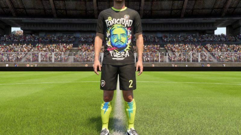 """Ibai Llanos sneaks into FIFA 22: """"Toxicity out"""""""