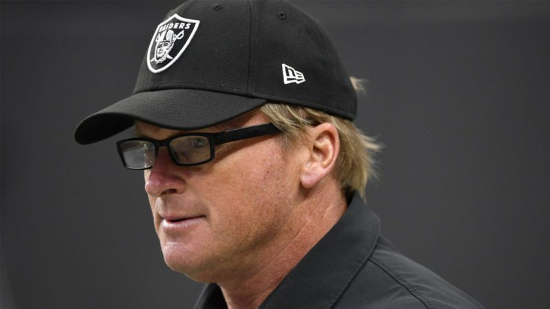 EA Madden to remove former Raiders coach Jon Gruden from the game