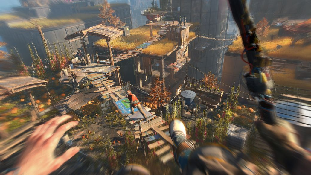 If you're hoping for a next-gen patch for Dying Light you're in luck: they're working on it