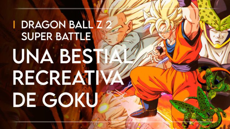 Dragon Ball Z 2 Super Battle, when Goku wanted to be the king of arcades