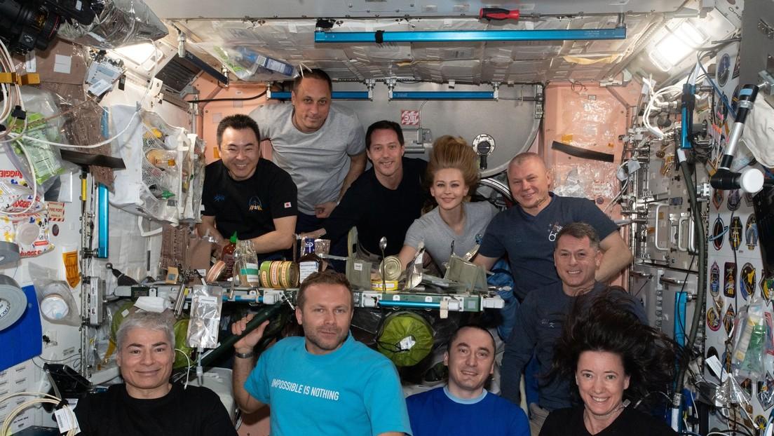 """""""Un entorno muy exigente para grabar"""": Veteranos de las misiones espaciales valoran el hito de rodar la primera película en órbita"""