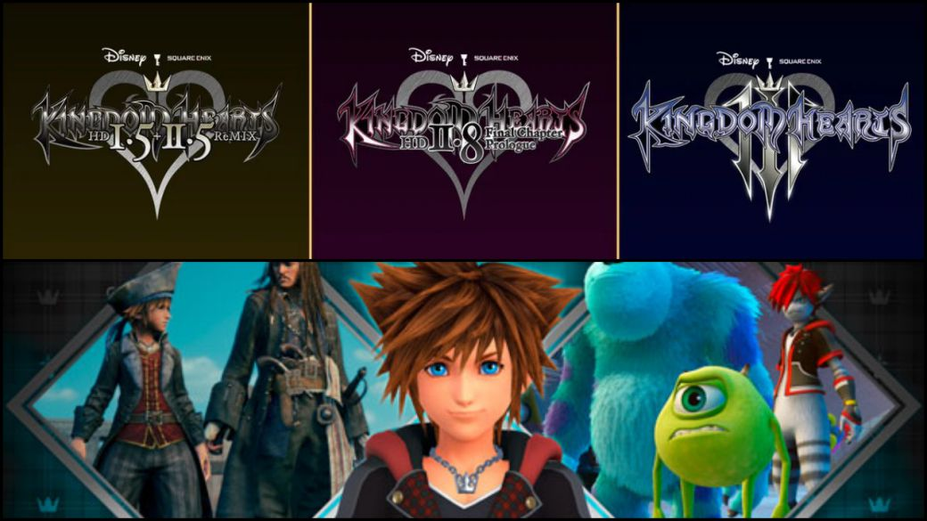 """Kingdom Hearts: Square Enix is """"undecided"""" about a possible native port on Nintendo Switch"""