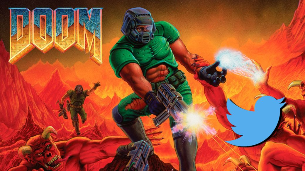 We can now play DOOM on Twitter;  although it seems impossible