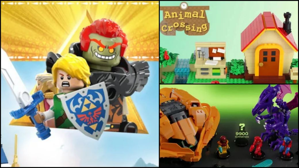 LEGO says no to Zelda, Metroid and Animal Crossing set ideas