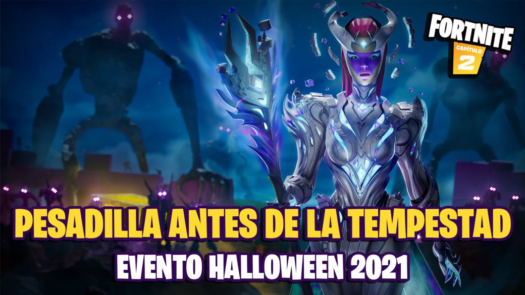 Halloween 2021 in Fortnite: Nightmare Before the Tempest - Wrath of the Cube Queen