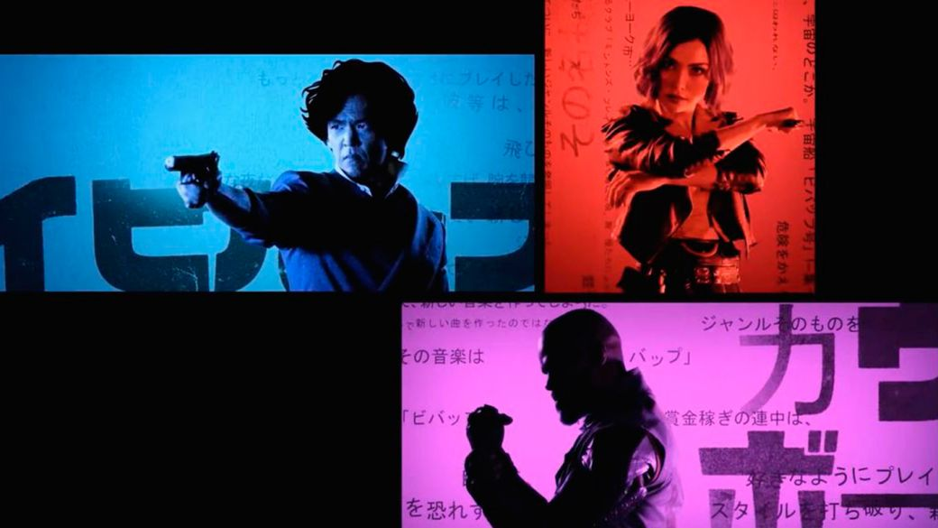The Netflix series Cowboy Bebop is presented in partnership with a Tarantinian trailer