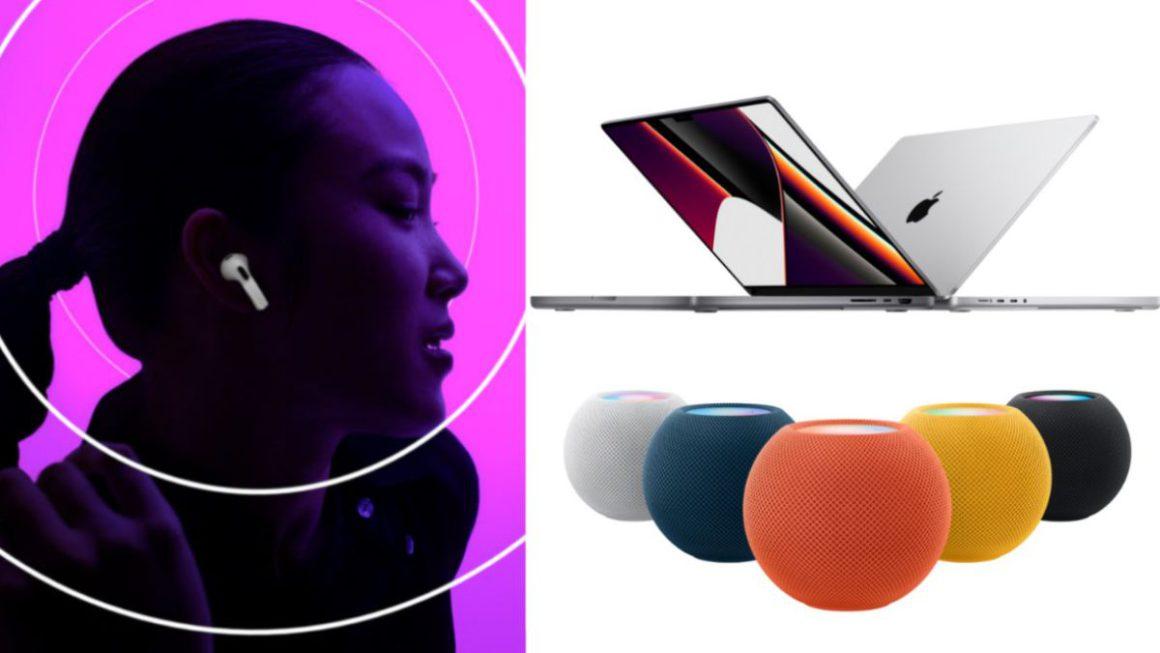 Nuevos MacBook, AirPods 3ª Gen, HomePod Mini: Resumen del evento Apple Octubre 2021