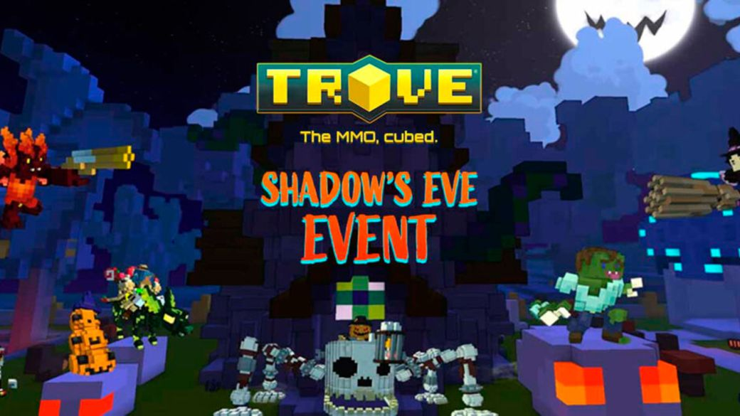 Cubic MMO Trove receives Halloween-themed Shadow's Eve event