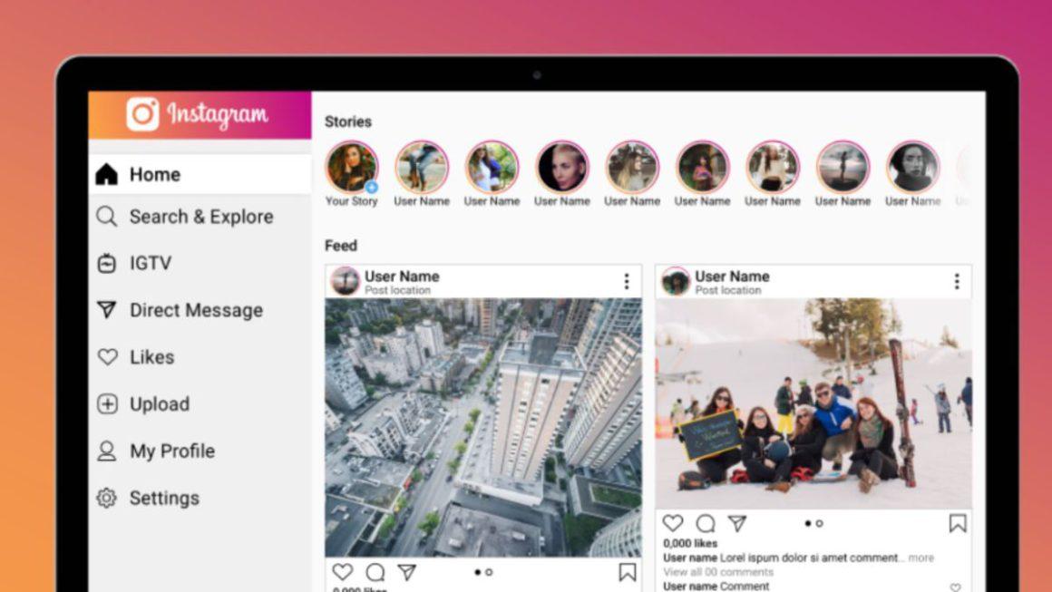 Al fin Instagram permitirá subir contenido desde la versión Desktop de PC