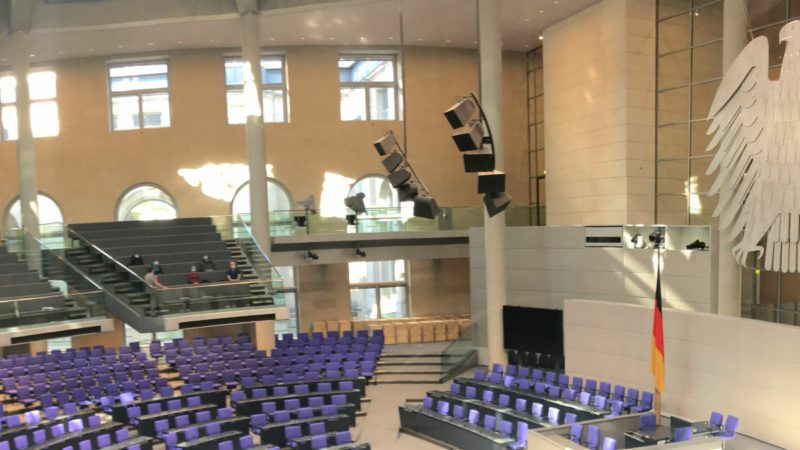 Open Parliament TV: Search engine for Bundestag speeches with video recordings